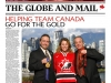 Globe and Mail Coverage